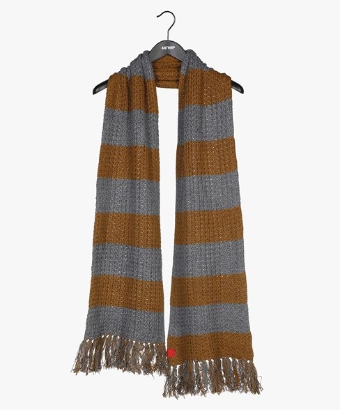 2002-BSC004-L204S | Knitted Striped Scarf