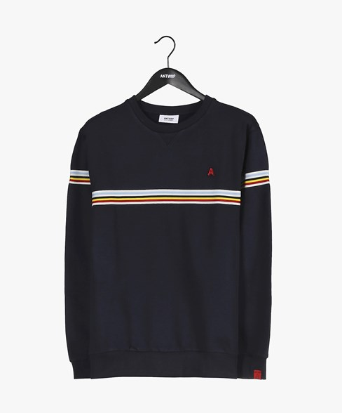 2002-BSW008-L008 | Velo Tourist Crew Neck Sweatshirt