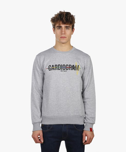 BSW001-L008 | Cardiogram Crew Neck Sweatshirt