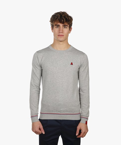 BKW010-L200S | Knitted Crew Neck Jumper