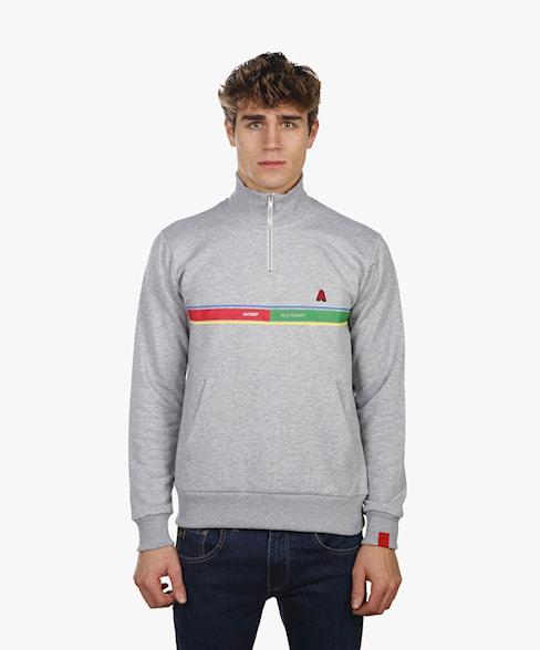 BSW003-L008 | Velo Tourist 1/4 Zip Sweatshirt