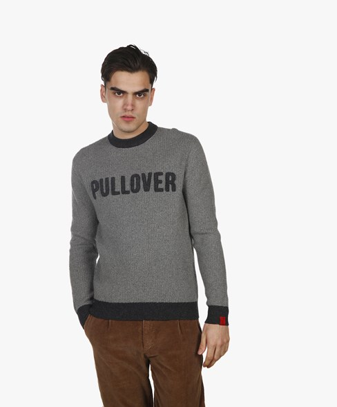 BKW054-L208 | PULLOVER Cotton-Wool Knit