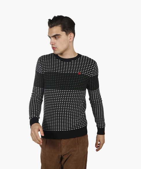 BKW058-L200S | Combed Cotton Detailed Knit