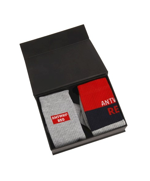 BOX054 | ANTWRP Red Socks
