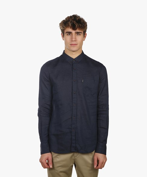 BSH007K-C486 | Linen Shirt