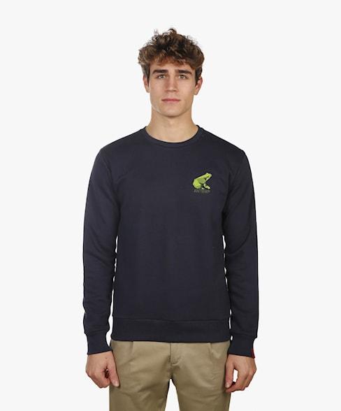 BSW008-L008 | Frog Crew Neck Sweatshirt