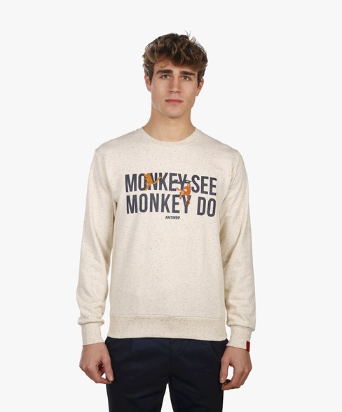 BSW009-L006 | Monkey Crew Neck Sweatshirt