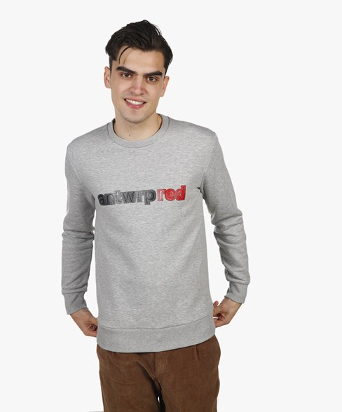 BSW059-L008 | ANTWRP RED Crewneck Sweatshirt