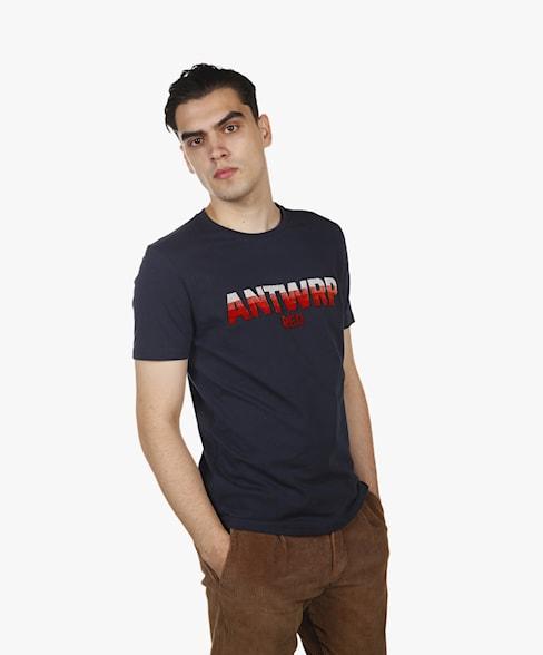 BTS065-L001 | ANTWRP RED Flock T-Shirt