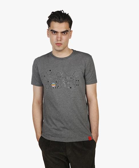 BTS074-L001 | DNA Green Biker T-Shirt
